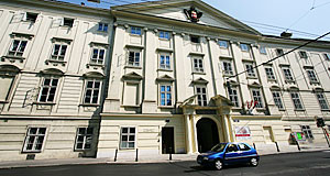 The Palais Favorita in Vienna is home to the Diplomatic Academy and a boarding school