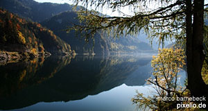 Lake Gosausee is among the most beautiful in the Salzkammergut