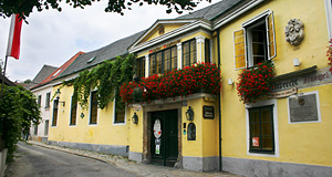 A Heuriger or Wine Tavern in Grinzing, Vienna