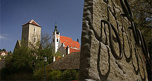 The parish church of Krems - not the only attraction in the medieval Wachau city