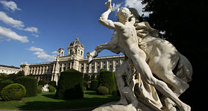 The Kunsthistorisches Museum in Vienna, one of the fine art museums in the World