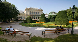 The Stadtpark is the most important central park of Vienna