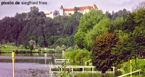 The castle of Schloss Seggau near Leibnitz in Styria