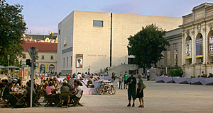 The Leopold Museum is my favourite museum in Vienna.