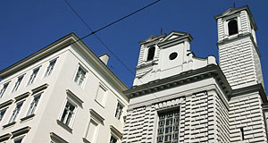 The Mechitaristenkirche is a 19th century church in Vienna