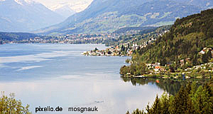 Millstatt, one of Carinthia's most popular towns