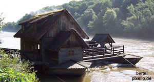 A water mill on a river in Styria