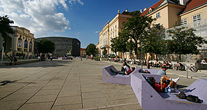 The MuseumsQuartier, Austria's new museum district and Vienna's cultural core