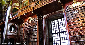 The Austrian National Library was founded by Prince Eugene of Savoy