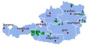 The National Parks of Austria