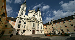 The Piaristenkirche Maria Treu ranks among Vienna′s most elaborate Baroque churches