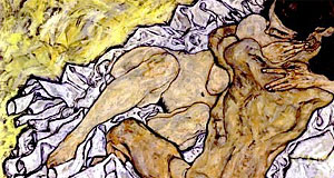 Egon Schiele, the so-called 'Gothic master of the Vienna modernism'