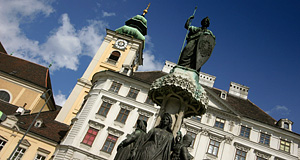 The Schottenstift in Vienna - an olde Benedictine monastery