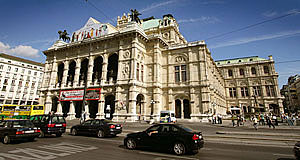 The Staatsoper, the National Opera of Austria in Vienna