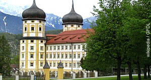 Stift Stams in Tyrol is a popular day-trip from Innsbruck
