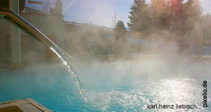 A therme spa in Austria - very popular especially among wellness tourists from Italy