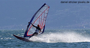Windsurfing is popular in Austria, thanks to the many lakes of the country