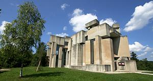 Modern Architecture Vienna wotrubakirche church, vienna : modern church in mauer