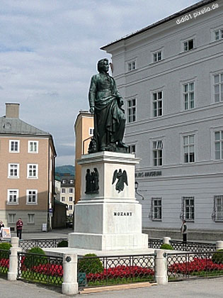 Wolfgang Amadeus Mozart, one of Salzburg's favourite things