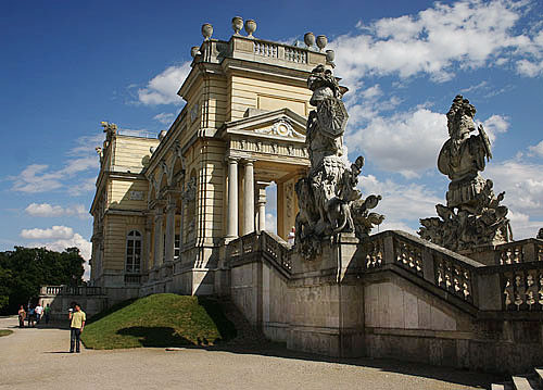 The Gloriette, a super-size folley in the parks of Schönbrunn Palace